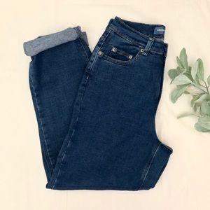 Retro high waisted jeans